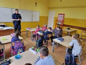 Spotkanie z Panią Policjant
