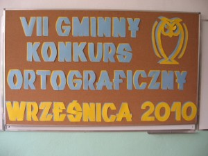 VII Gminny Konkurs Ortograficzny
