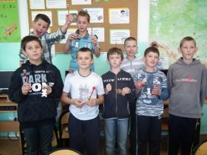Dzień Chłopaka w klasie V - 2012
