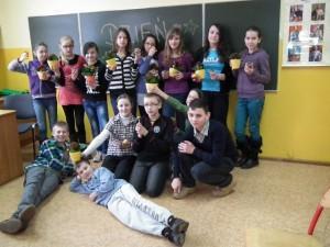 Dzień Kobiet w klasie 5 - 2013