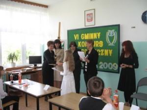 Gminny Konkurs Ortograficzny11