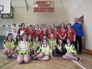 Gminny Turniej Mini Koszykówki Dziewcząt 2013