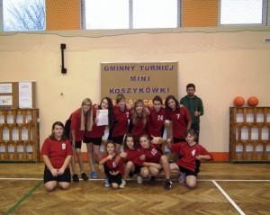 Gminny Turniej Mini Koszykówki Dziewcząt 2013-2