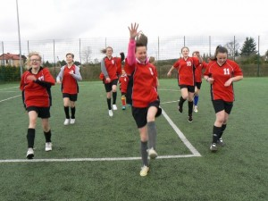 Gminny Turniej Mini Piłki Nożnej Dziewcząt 2014