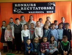 Konkurs Recytatorski 2015