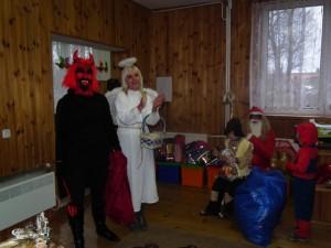 Mikołaj, Anioł i Diabeł w naszej szkole