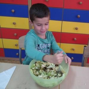 Salatki owocowe kl. I