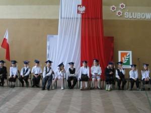 Ślubowanie uczniów klasy I