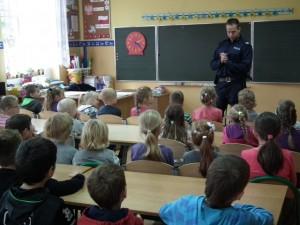 Wizyta Policjanta w klasach I-III