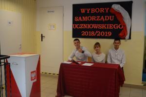 Wybór Samorządu Uczniowskiego 2018