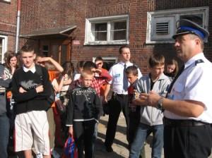 Wycieczka do Szkoły Policji w Słupsku