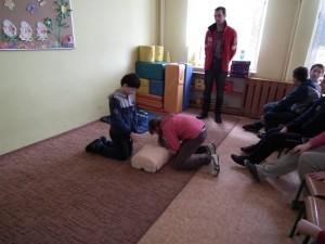 Zajęcia z udzielania pierwszej pomocy